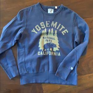 Yosemite graphic sweatshirt M